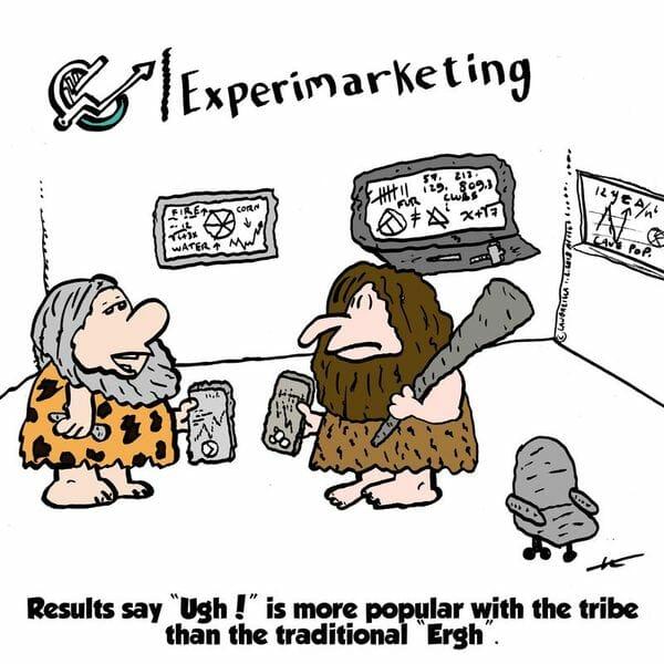 Caveman Marketing Experimarketing